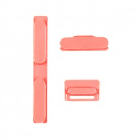 Réparation Bouton power silencieux volume iPhone 5C rose