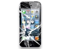 iphone vitre brisée